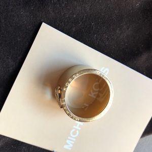 Michael Kors Gold Ring size8